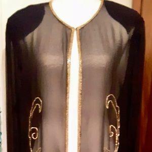Long Sheer Elegant Cardigan